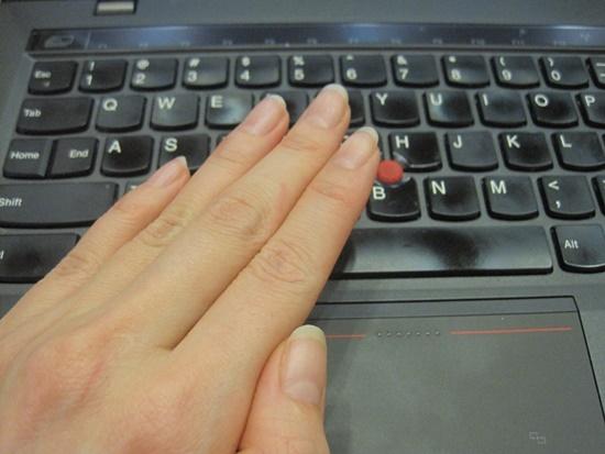 ThinkPad x1 Carbon ネイルエキスポ2014無料ネイルコーナー