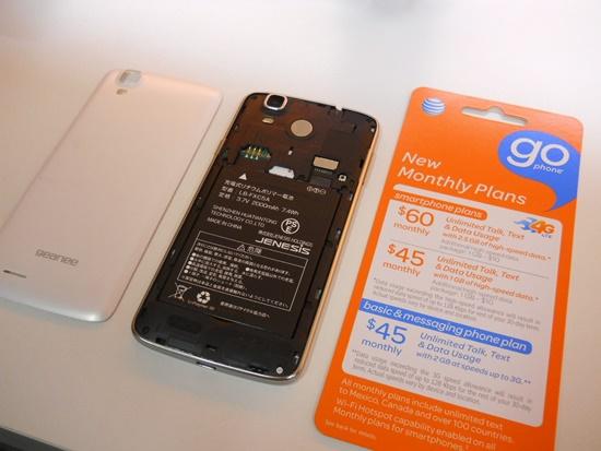 AT&TにてSIMカードを購入