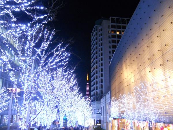 六本木ヒルズけやき坂のイルミネーション2015