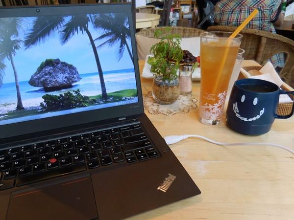 ThinkPad X1 Carbon 動作時の発熱は、どう?