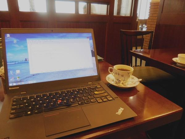 ThinkPad X1 Carbon 2015のキーボードが静かで打ちやすい