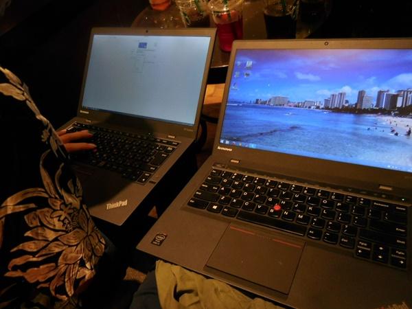 ThinkPad X1Carbon 2015の解像度を調整