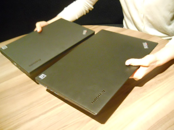 ThinkPad X1 CarbonとThinkPad X250の違いを比較