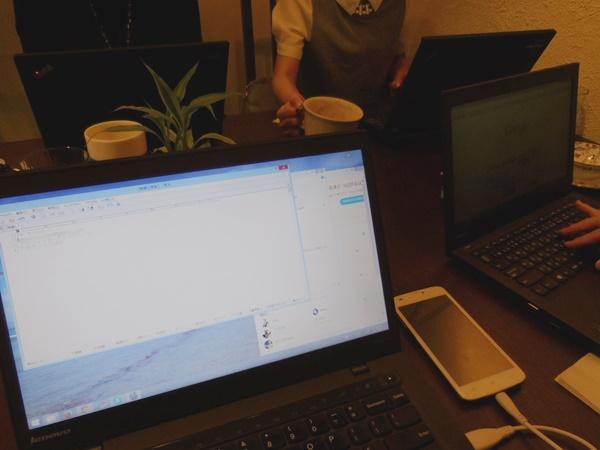 雨降りはお手紙。そして、ThinkPad 女子が集合♪