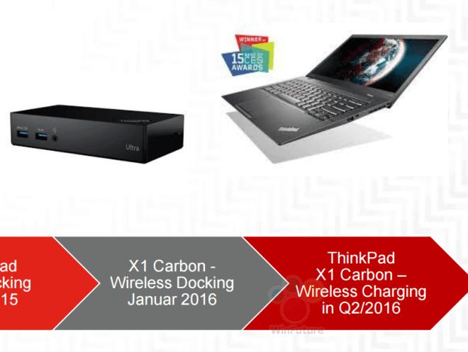 ThinkPad X1 Carbon 2016は2016年の2月ごろ発売開始?!ノートPC初の無線充電ユニットや新型指紋ユニットも導入