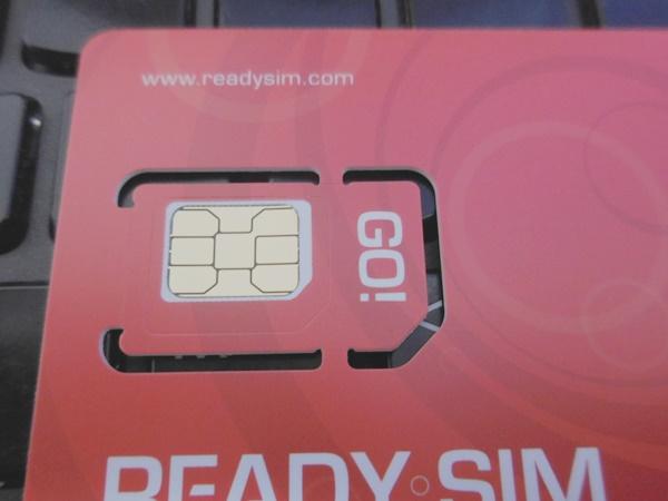 ハワイで使う予定のプリペイドSIM「READY SIM」が届きました!