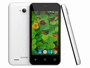 Covia LTE対応 SIMフリー スマートフォン FLEAZ POP