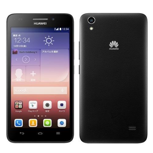 Huawei SIMフリースマートフォン Ascend G620S(黒)