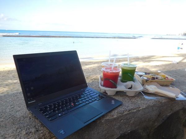 3泊5日のハワイ旅行、プリペイドSIMでネットも通話も快適でした♪