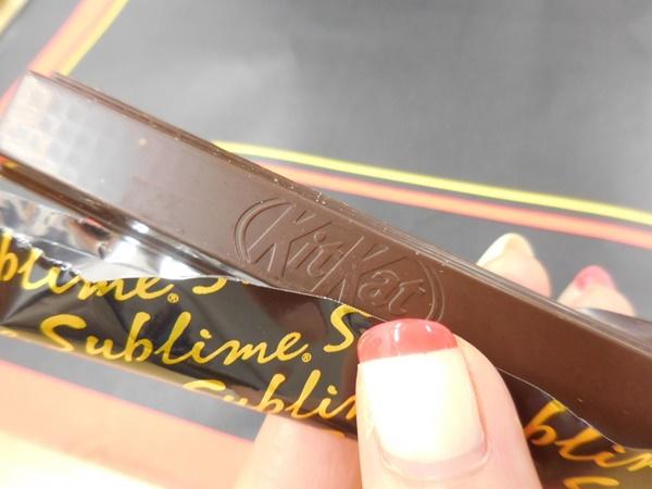 ThinkPadカラーの「ル パティシエ タカギ」キットカット ショコラトリー