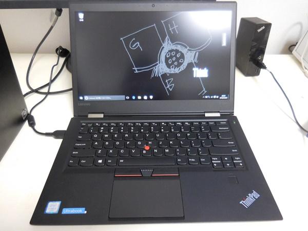 ThinkPad X1 Carbon 2016をセットアップ完了です