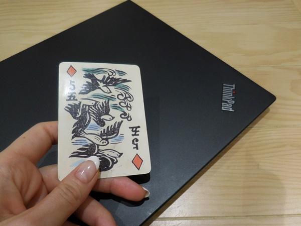 アトレ恵比寿西館にオープンした猿田彦珈琲の引換券がトランプのカード